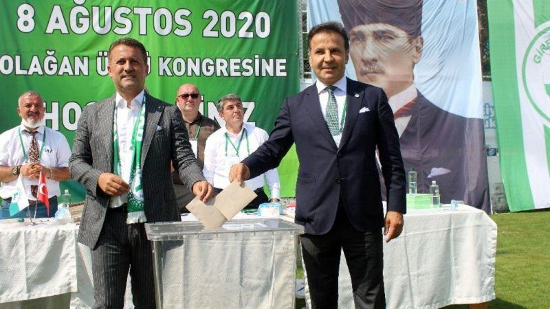 Giresunspor'da yeni başkan seçildi