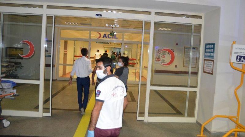 Siirt'te patpat devrildi: 4 yaralı