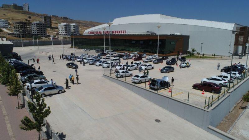 Şanlıurfa'nın en büyük açık oto pazarı kuruldu
