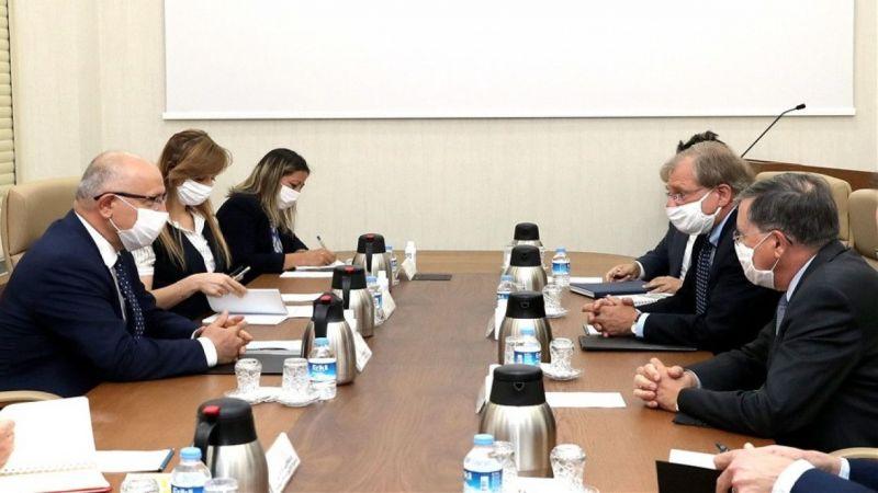 Karaosmanoğlu ABD'nin Libya ve Ankara Büyükelçilerini kabul etti
