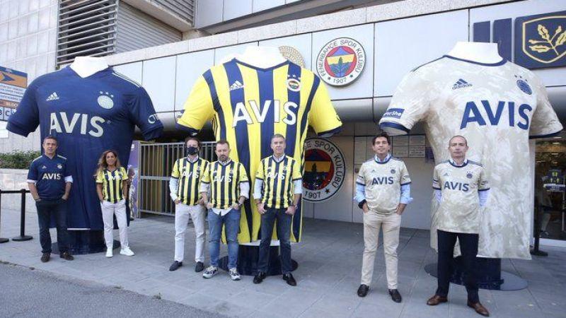 Fenerbahçe'nin yeni sezon formaları satışta