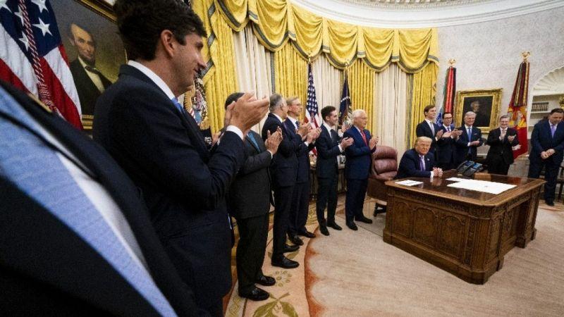 Trump, İsrail-BAE anlaşmasını duyurdu