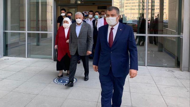 Sağlık Bakanı Koca'dan Binali Yıldırım açıklaması