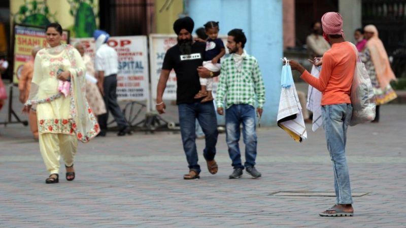 Hindistan'da bilanço artıyor! Son 24 saatte 90 bin 82 yeni vaka