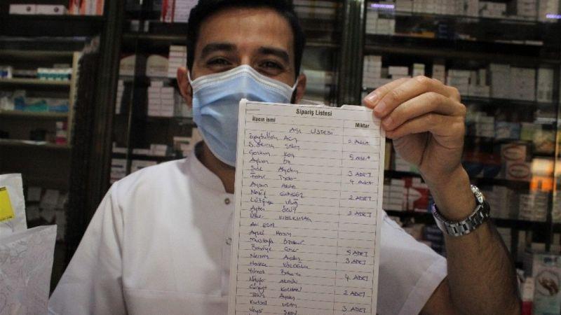 Grip aşısı vurulmak isteyenler aylar öncesinden sıraya girdi