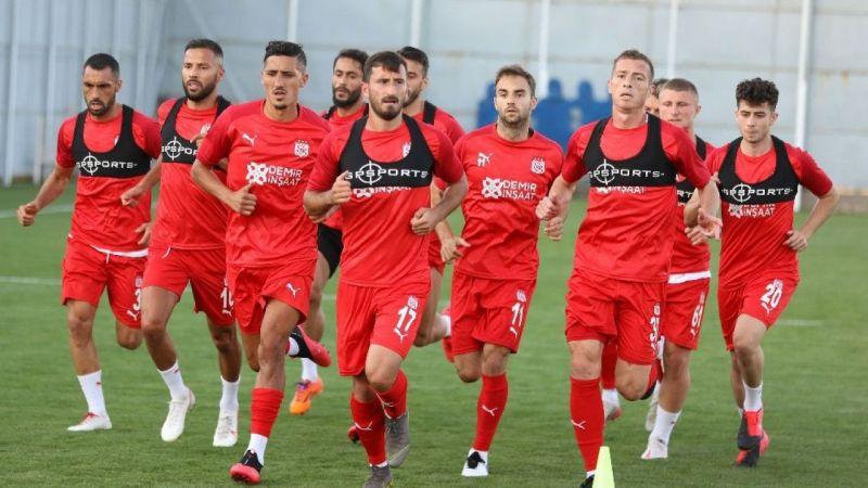 Sivasspor' Erzurumspor maçı hazırlıklarına başladı