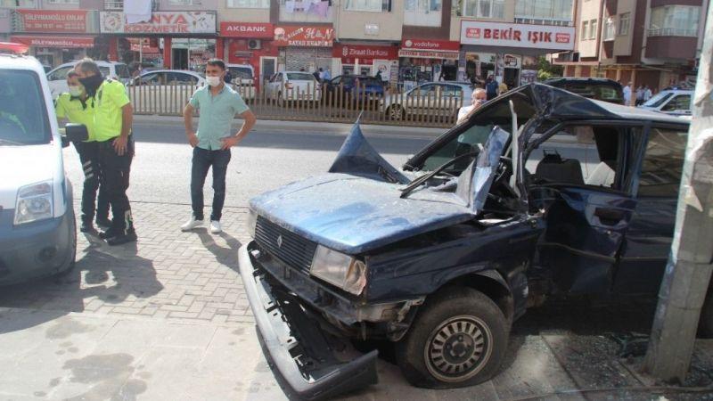 Ortalığın savaş alanına döndüğü kaza!