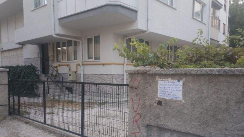 Eskişehir'de beddua yazısı görenleri şaşırttı