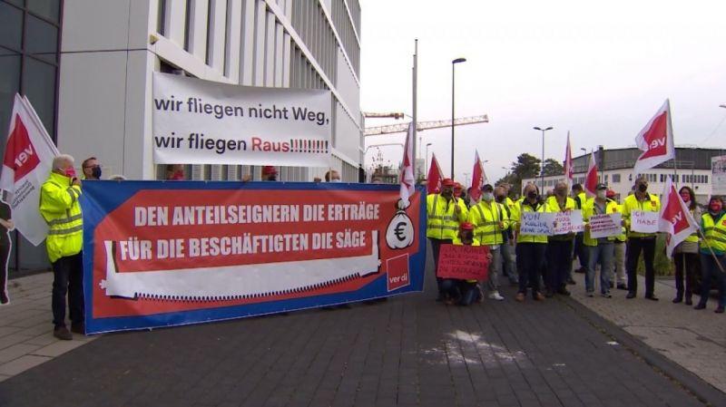 """Almanya'da binlerce çalışan """"uyarı grevine"""" gidiyor"""