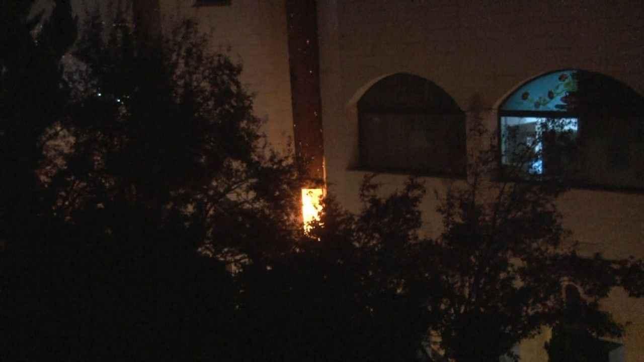 Ankara'da Estergon Kalesi alev alev yandı - Haber Takvimi