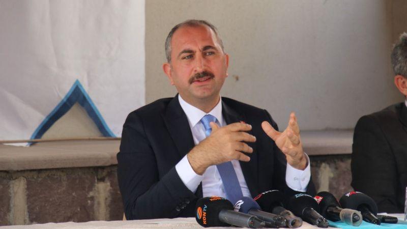 Adalet Bakanı Gül'den FETÖ'yle mücadele açıklaması