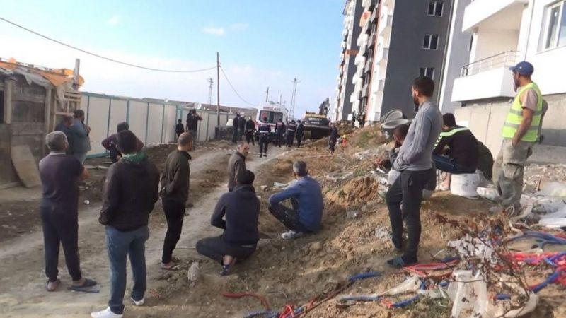 Tekirdağ'da cezaevi lojman inşaatında göçük: 1 işçi hayatını kaybetti