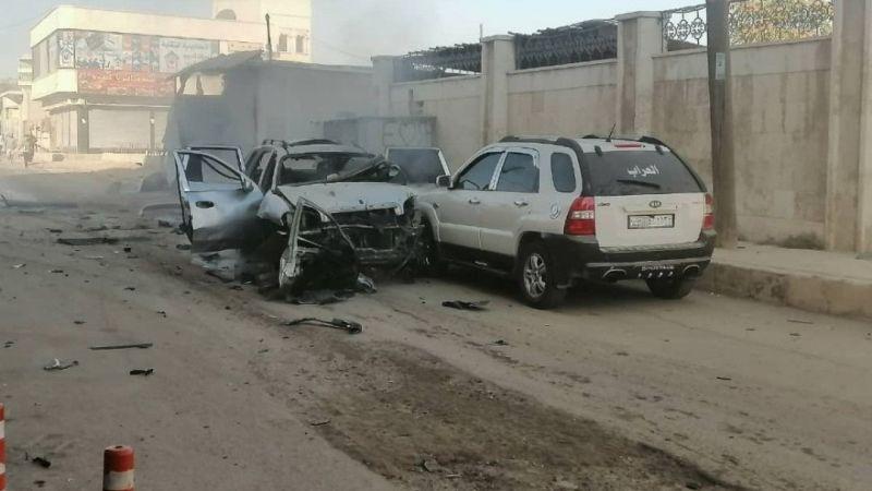 Suriye'nin Azez ilçesinde bir hakimin aracına saldırı