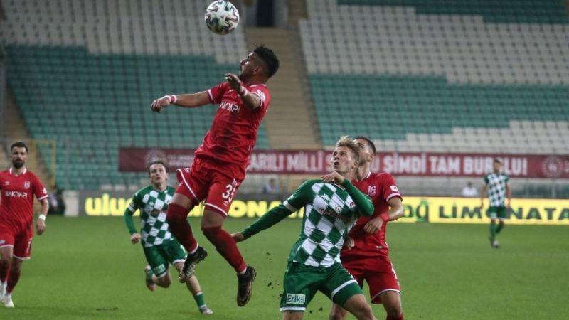 TFF 1. Lig: Bursaspor: 3 - Balıkesirspor: 1