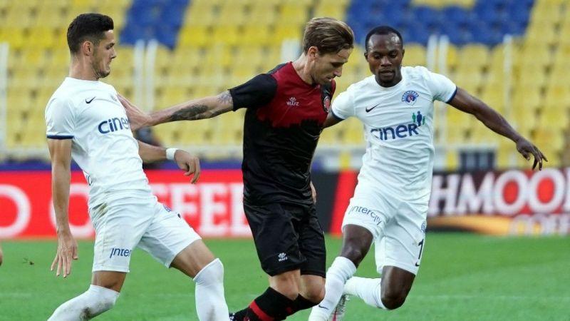 Süper Lig: Karagümrük: 1 - Kasımpaşa: 1 (Maç sonucu)