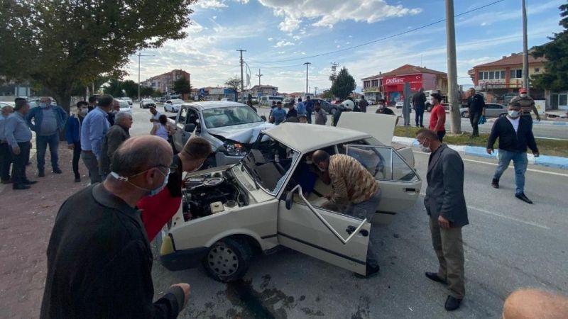 Burdur'da trafik kazası: Yaralılar var