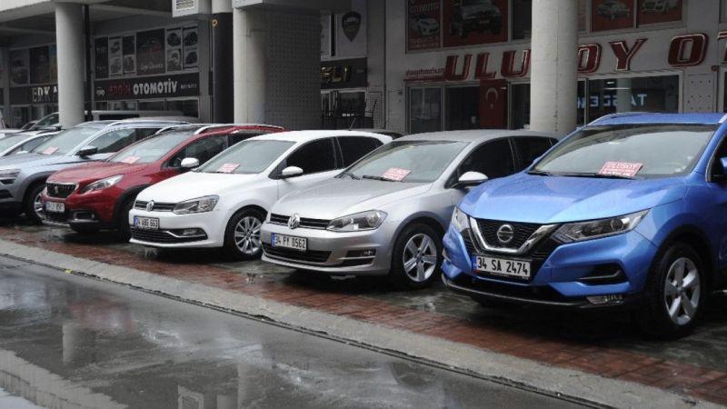 İkinci el araç piyasasında durgunluk yaşanıyor   Son Dakika Haber