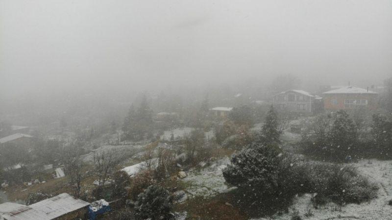 İstanbul'a beklenen kar geldi sonunda