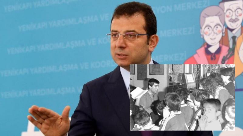 İstanbul Büyükşehir Belediye Başkanı Ekrem  İmamoğlu'ndan Hrant Dink paylaşımı