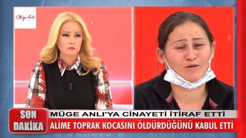 Müge Anlı'nın canlı yayınında cinayet itirafında bulundu