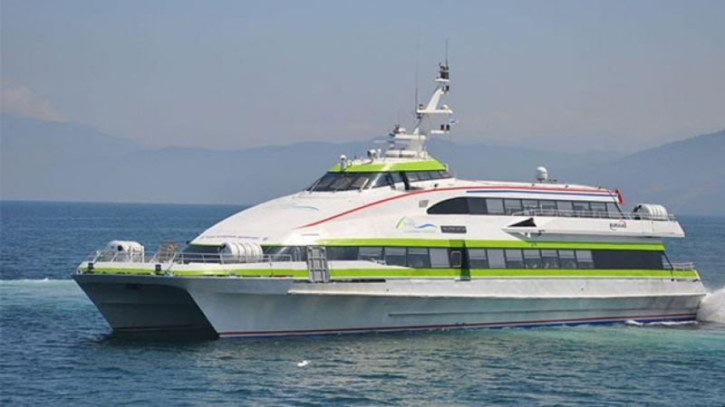 Bursa'da bazı feribot seferleri iptal edildi  Son Dakika Haber