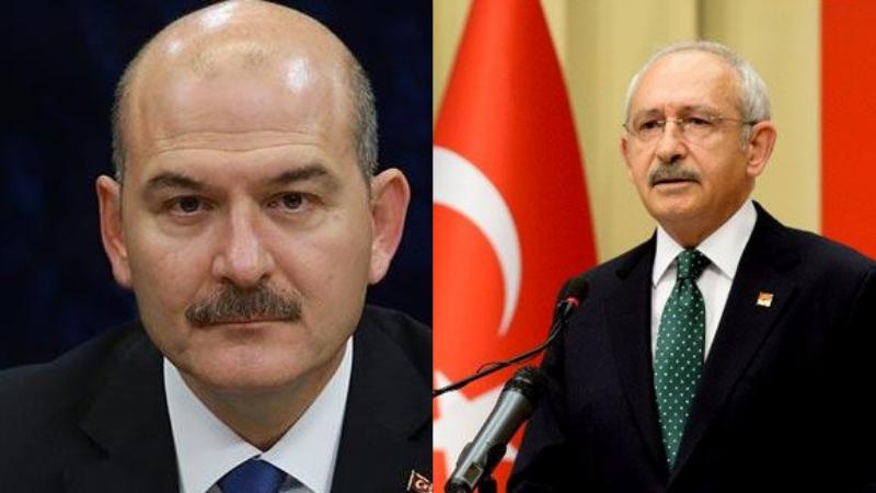 İçişleri Bakanı Soylu, 'Kemal Kılıçdaroğlu'na da ayrıca suç duyurusunda bulunacağız'