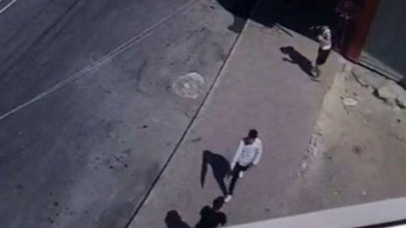 Mersin'de Liseli gencin öldürülme anı kamerada