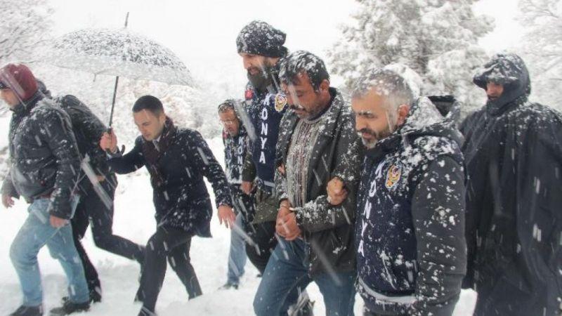 Konya'da cesedi gömdükleri yeri gösterdi, 'bana bu iş zorla yaptırıldı' dedi