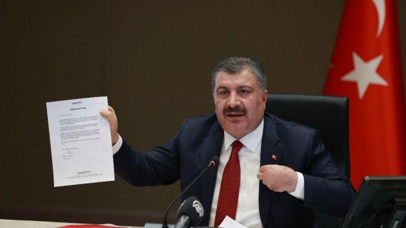 Sağlık Bakanı Fahrettin Koca'dan CHP'nin aşı iddialarına sert tepki geldi