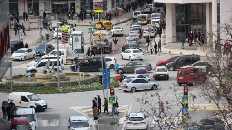 En yüksek riskli il Samsun'da korkutan yoğunluk  Son Dakika Haber