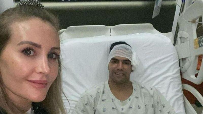 Falcao'nun ameliyatından sonra ilk fotoğraf geldi   Son Dakika Haber