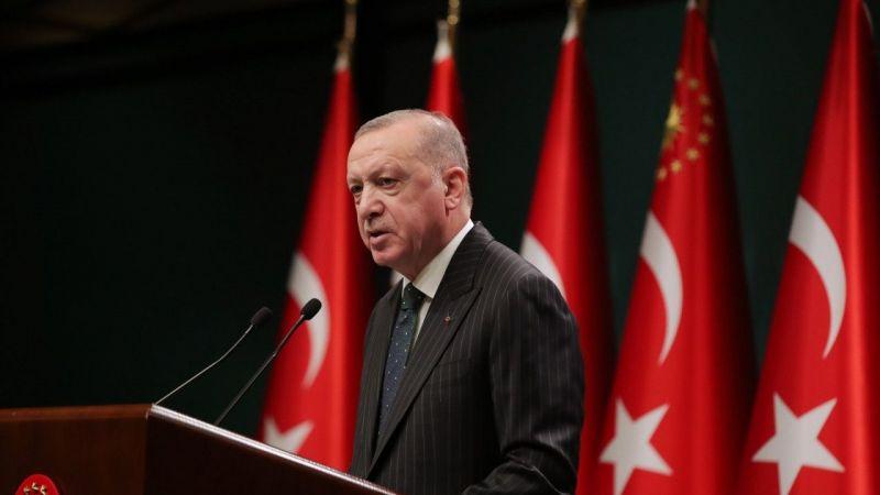 """Cumhurbaşkanı Erdoğan: """"Tedbirleri biraz daha sıkılaştırarak kısmi kapanma uygulanmasına geçiyoruz""""  Son Dakika Haber"""