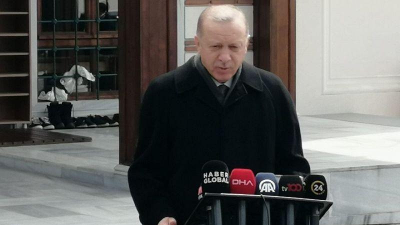Cumhurbaşkanı Erdoğan: 'Dışişleri Bakanımız Dendias'a haddini bildirdi'