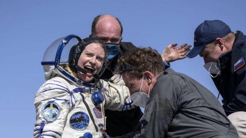 Van Gölü'nün uzaydan fotoğrafını çeken astronot dünyaya döndü | Son Dakika Haber