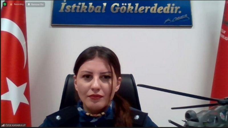 Türkiye'nin ilk kadın taarruz helikopter pilotu kadın girişimcilerin konuğu oldu |Son Dakika