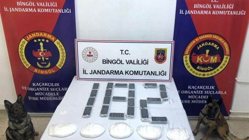 Bingöl'de 2 milyon 200 bin TL değerinde uyuşturucu ele geçirildi |Son Dakika