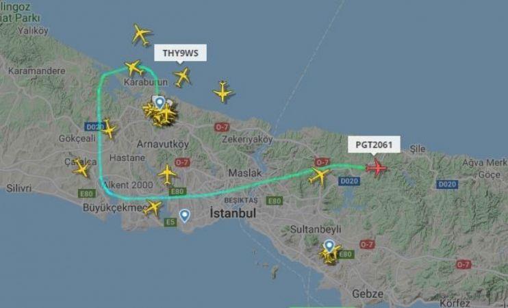 Pegasus'tan İstanbul Havalimanı'na yönlendirilen uçuşlara ilişkin açıklama   Son Dakika
