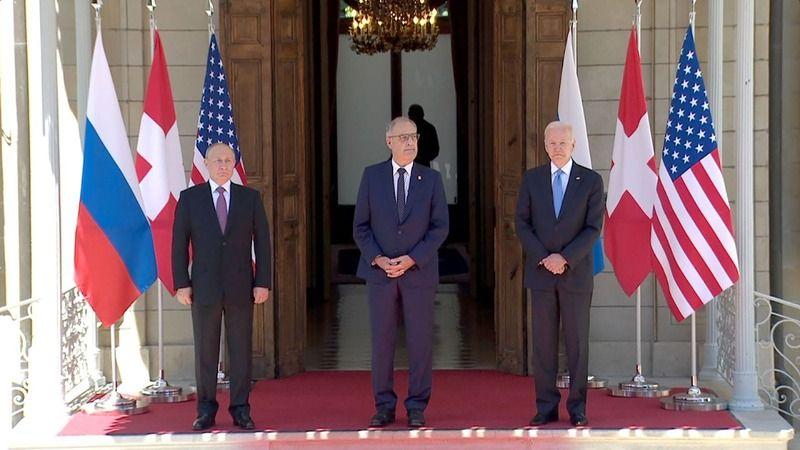 ABD Başkanı Biden-Rusya Devlet Başkanı Putin zirvesi, Cenevre'de başladı