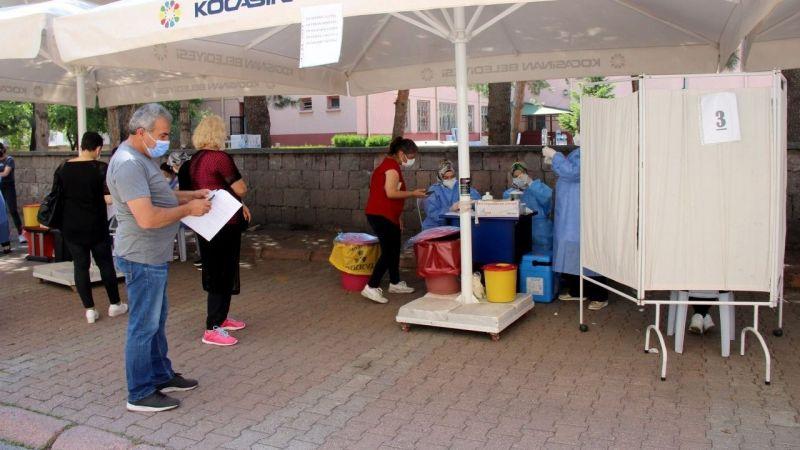 Kayseri'de aşıda yeni rekor: 25 bin 341 | Son Dakika