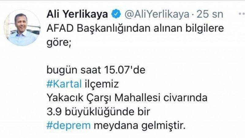 İstanbul Valisi Yerlikaya'dan deprem açıklaması | Son Dakika