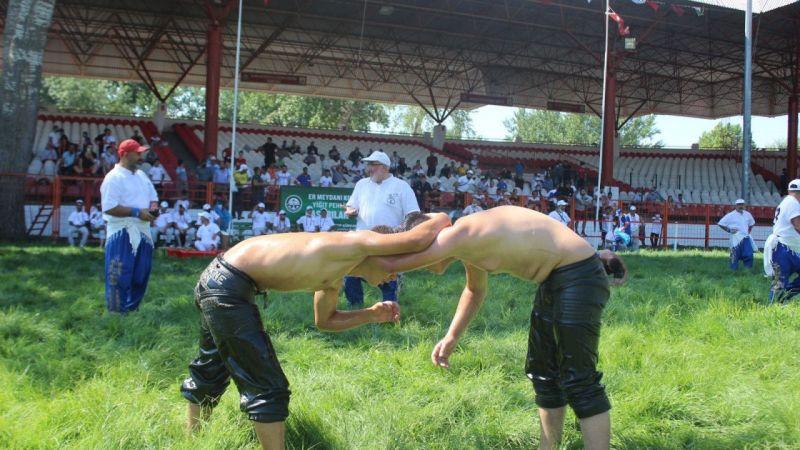 Bakan Koca spor müsabakaları için müjdeyi vermişti, Kırkpınar Güreşleri seyircili düzenleniyor   Son Dakika