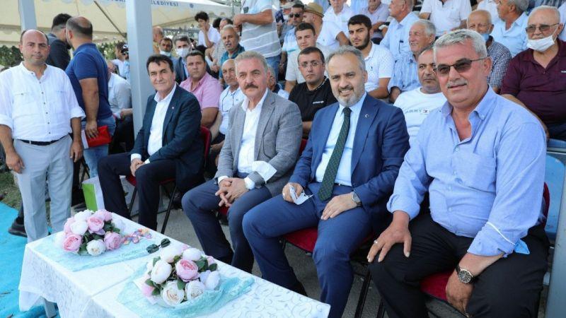 Bursa'da rahvan at yarışları nefes kesti