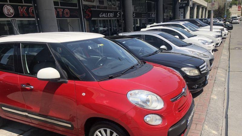 İkinci el otomobil pazarları sessizliğe büründü alan satan yok
