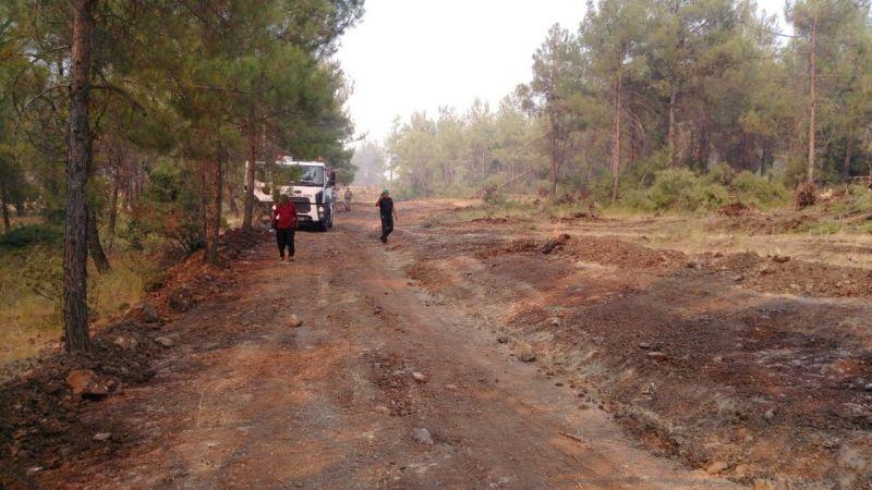 Kilis'teki orman yangını kontrol altına alındı | Son Dakika