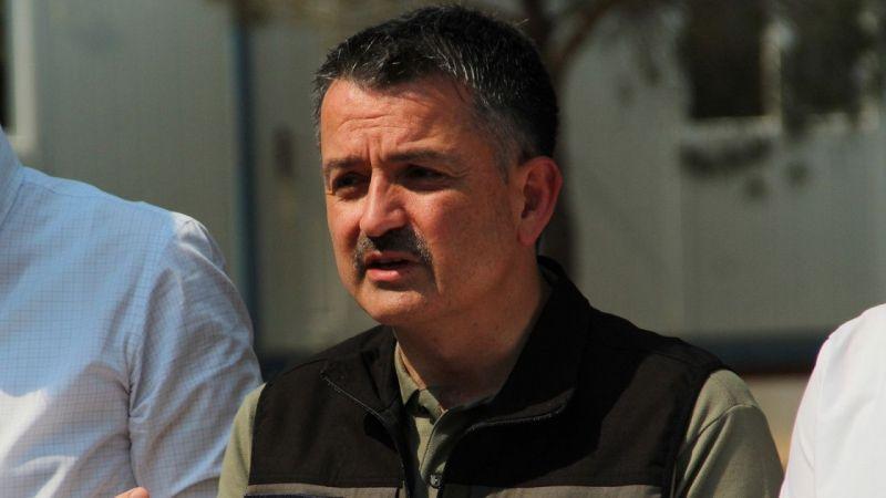 """Bakan Pakdemirli: """"71 yangından 57'si kontrol altında"""" dedi"""