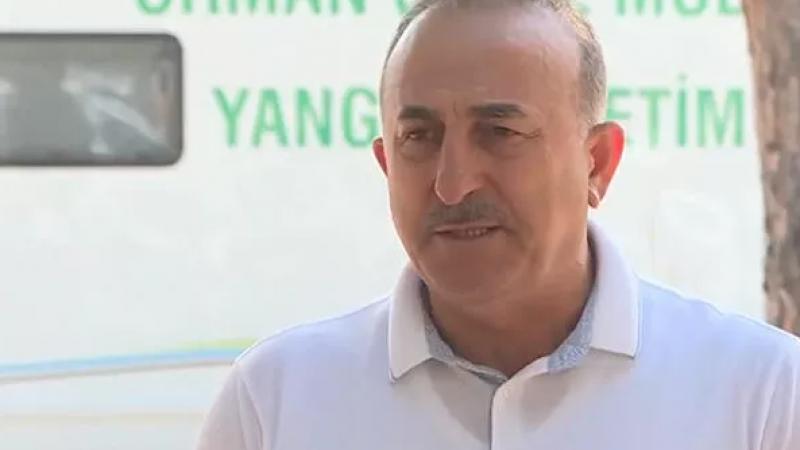 Bakan Çavuşoğlu, yangınlarda son durumu açıkladı: Hangi ülkeden yardımlar geldi