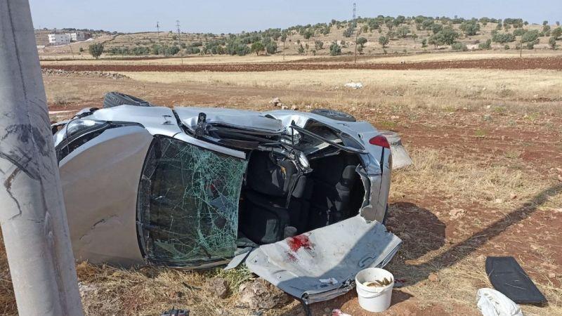 Mardin'de otomobil şarampole yuvarlandı, 1 kişi hayatını kaybetti |Son Dakika