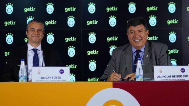 Galatasaray Futbol Takımı'nın kol sponsoru Getir oldu |Son Dakika