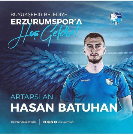 Batuhan Artarslan, BB Erzurumspor'da | Son Dakika