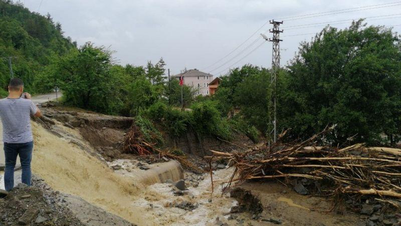 Ayancık'a 240,5 mm yağış düşmüş |Son Dakika